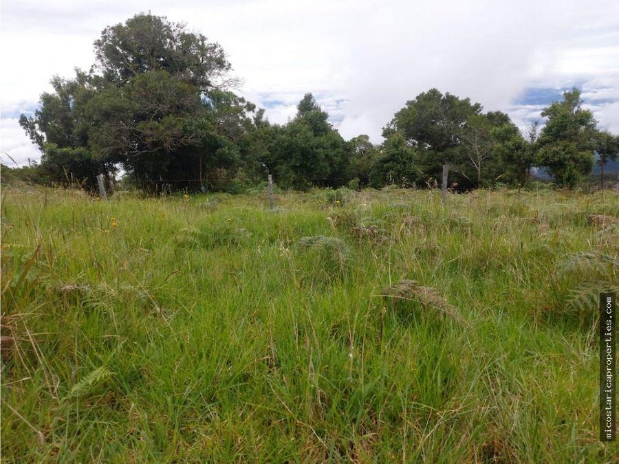 terreno en poas de alajuela