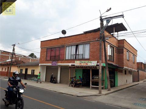 casa mas lote pueblo tapao zona urbana quindio