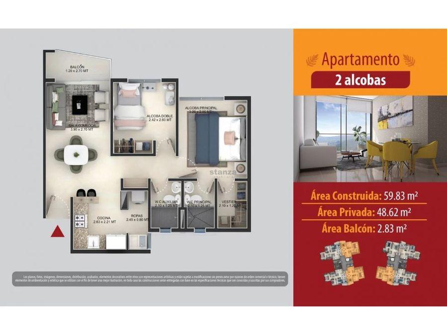 vendo apartamento sector la macarena ddas