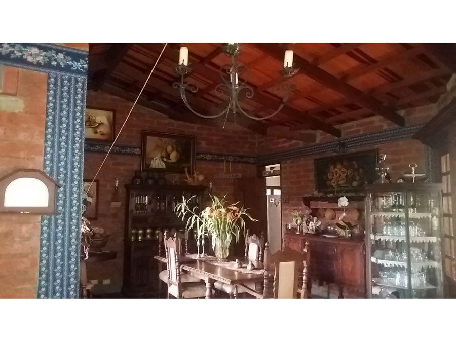 casa campestre para la venta en cerritos
