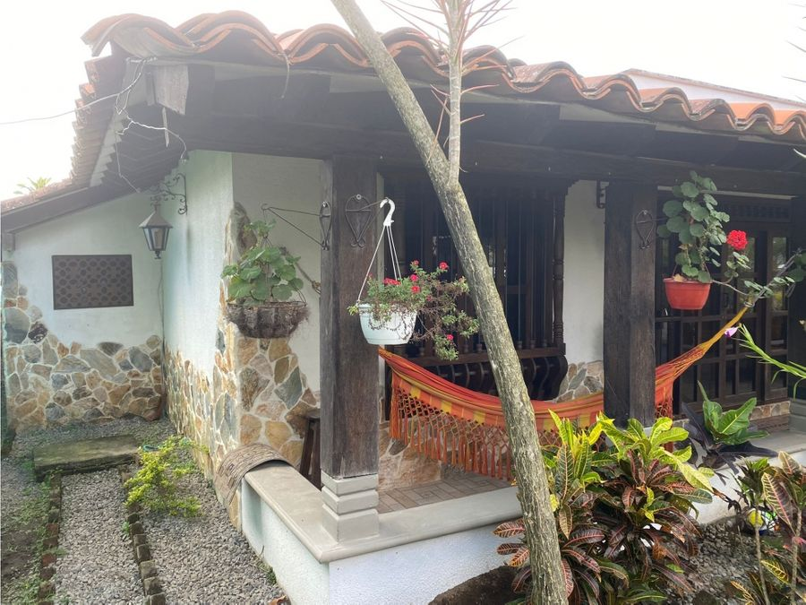 casa campestre via el lembo