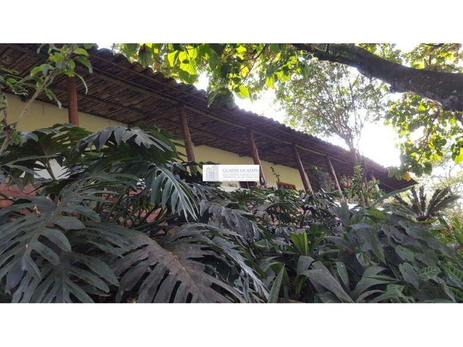 casa campestre para la venta