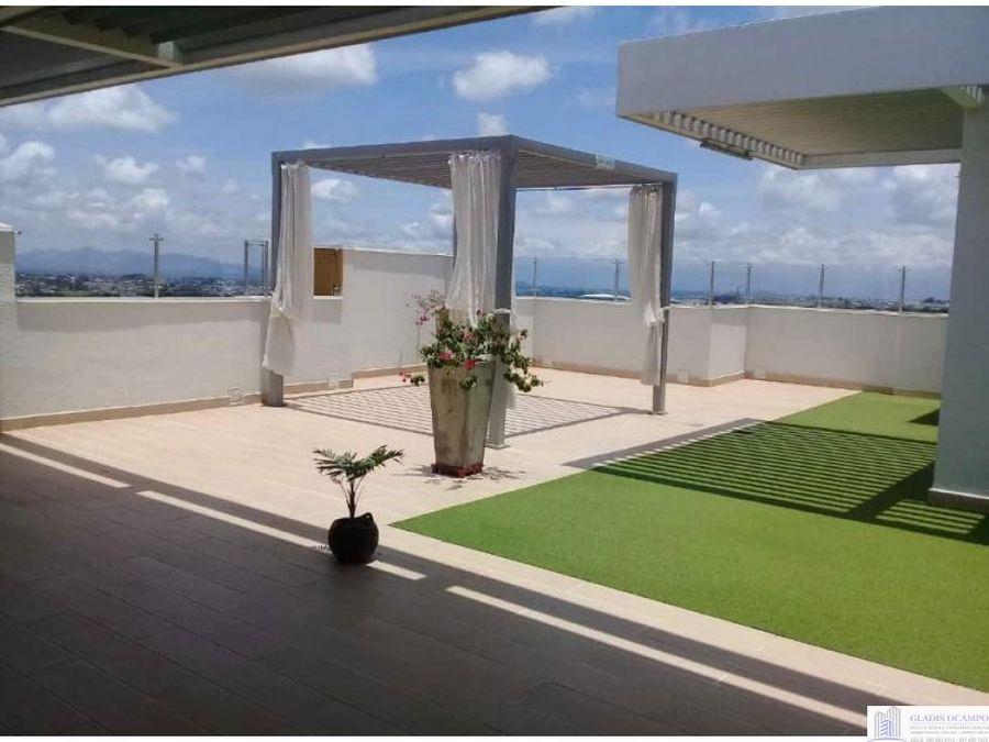 apartamento en pereira hermosa vista sector maraya