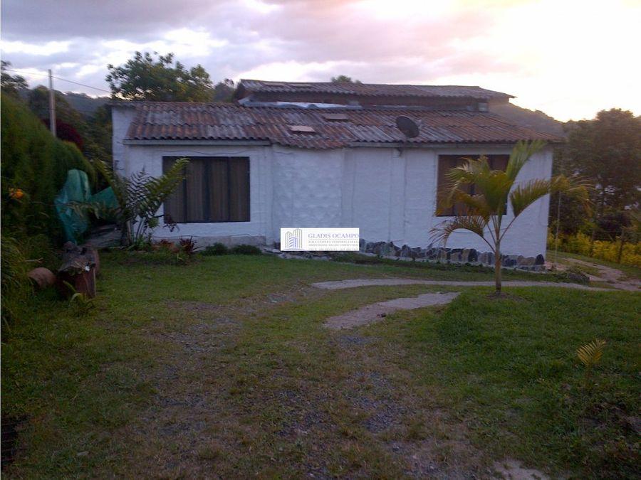 casas campestres via termales venta