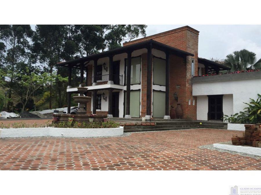 casa campestre en venta el jazmin