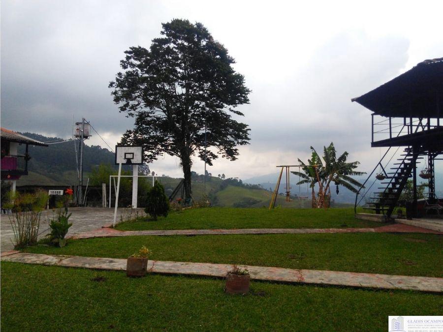 casa campestre con vista panoramica