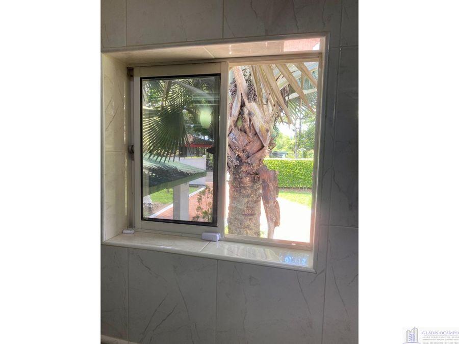 hermosa casa campestre en unidad cerrada sector condina