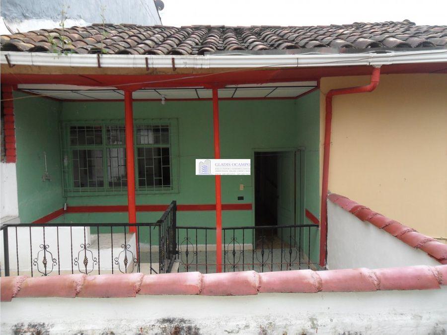 casa para la venta centro santa rosa de cabal