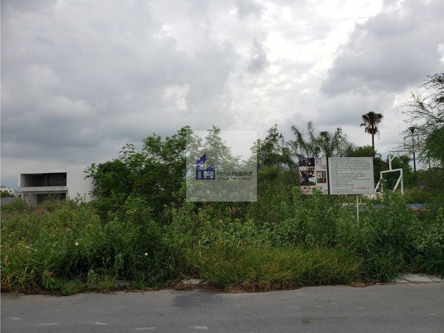 venta 2 terrenos en la encomienda escobedo nl