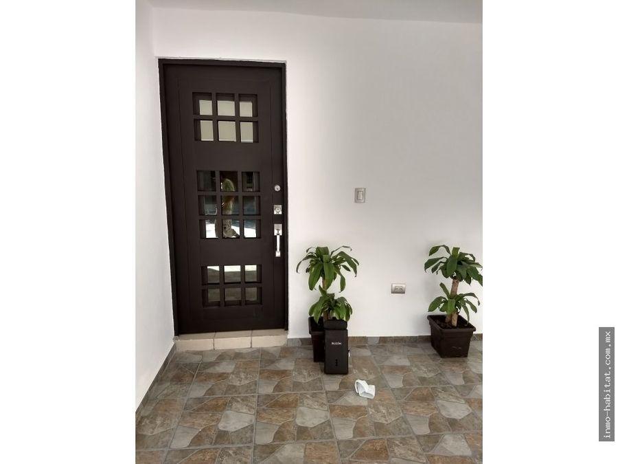 excelente casa en renta en puerta de anahuac