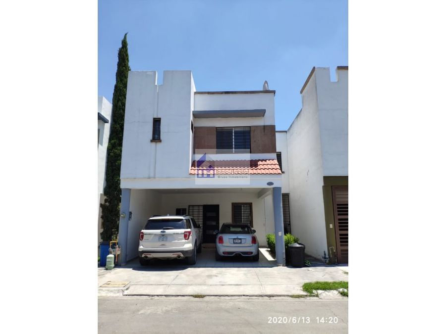excelente casa en venta en privadas de anahuac escobedo