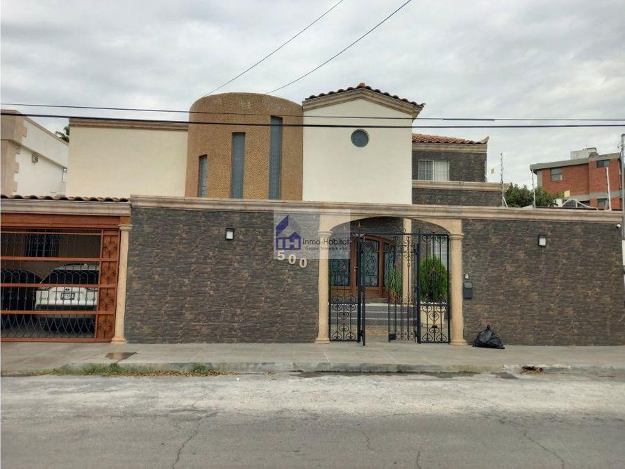 casa en venta amueblada en la col anahuac sn nicolas de los garza