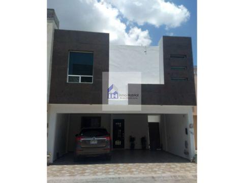 casa en renta amueblada en puerta de anahuac escobedo