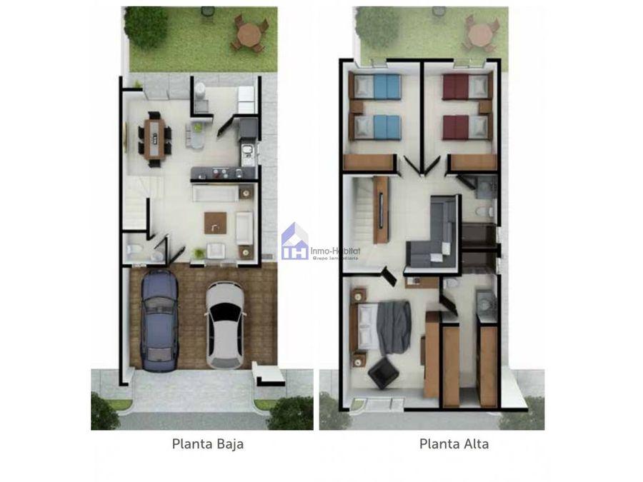 casa en venta en escobedo privada con amenidades