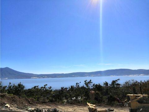 terreno en venta con vista al lago de chapala ll