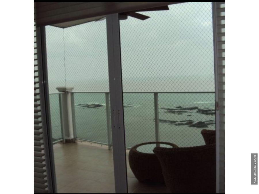 se alquila espacioso apartamento amoblado ocean drive punta pacifica