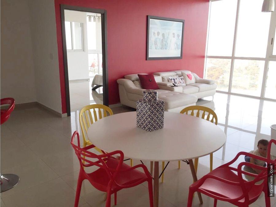 se alquila hermoso apartamento quadrat amoblado