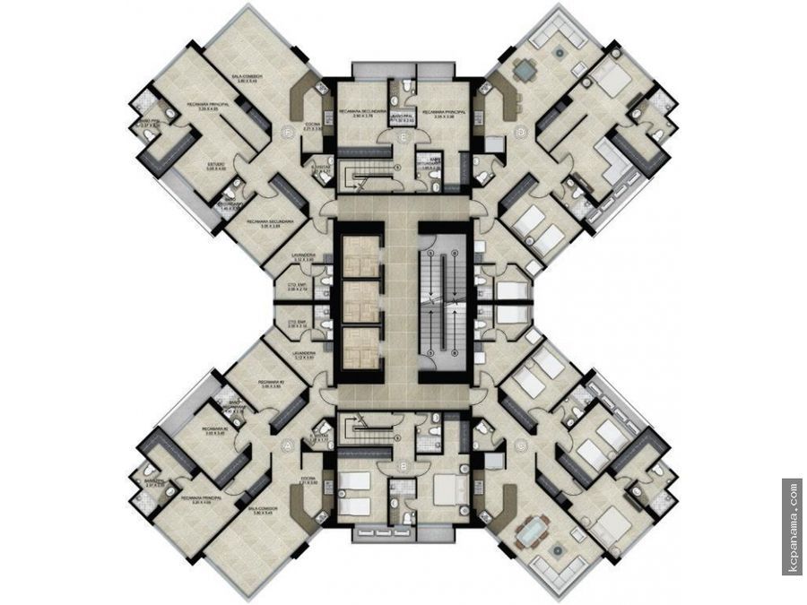se alquila apartamento en castellammare