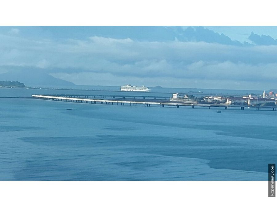 se alquila partamento con linea blanca vista al mar bayfront
