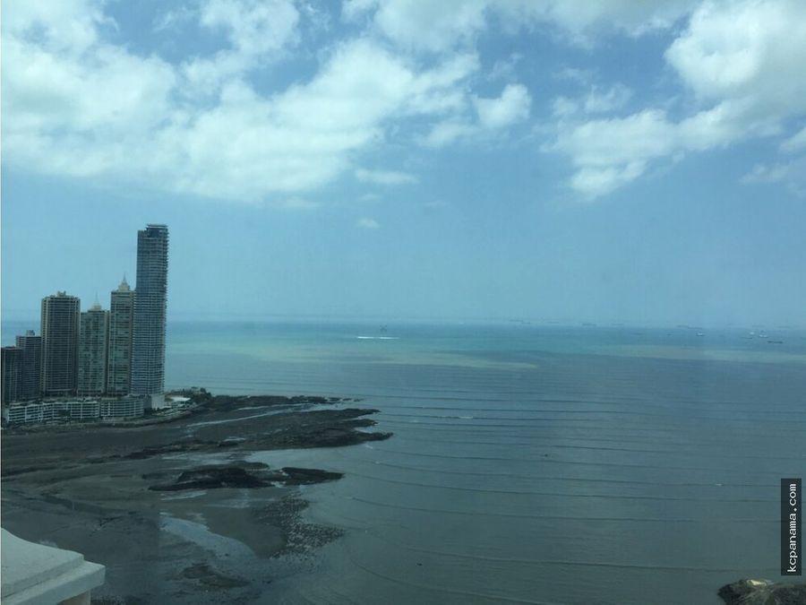 se alquila apartamento amoblado ph vista del mar en ave balboa