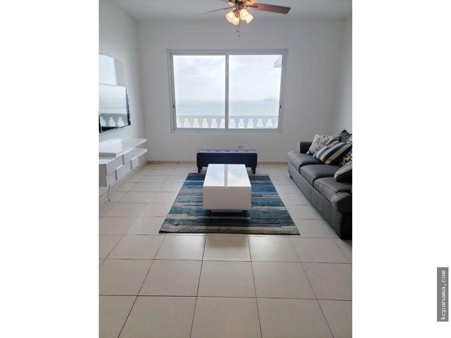 se alquila apartamento frente mar ph vista del mar