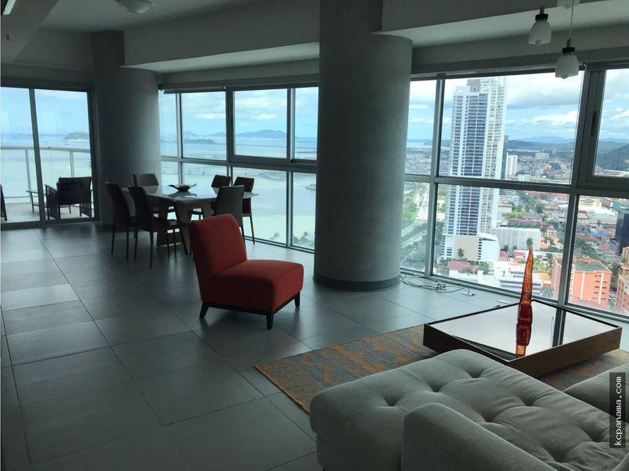 se alquila o vende elegante apartamento en yacht club avenida balboa