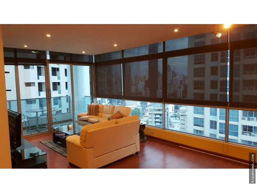 se alquila elegante apartamento en bayfront tower