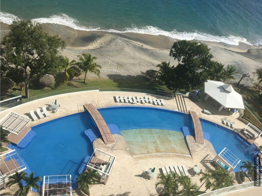 alquiler apartamento de playa santa clara residences