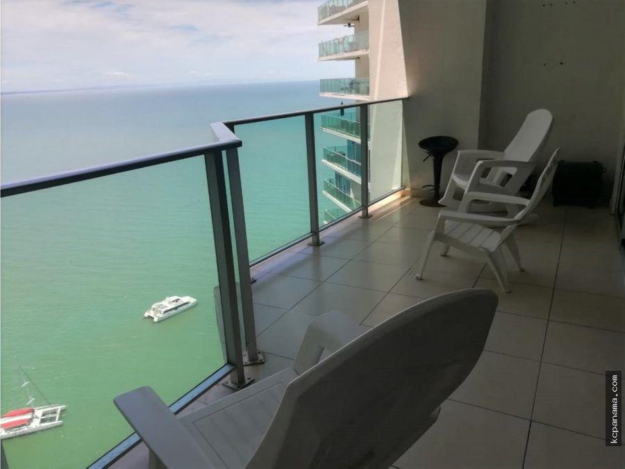 se alquila apartamento lb vista al mar en oasis