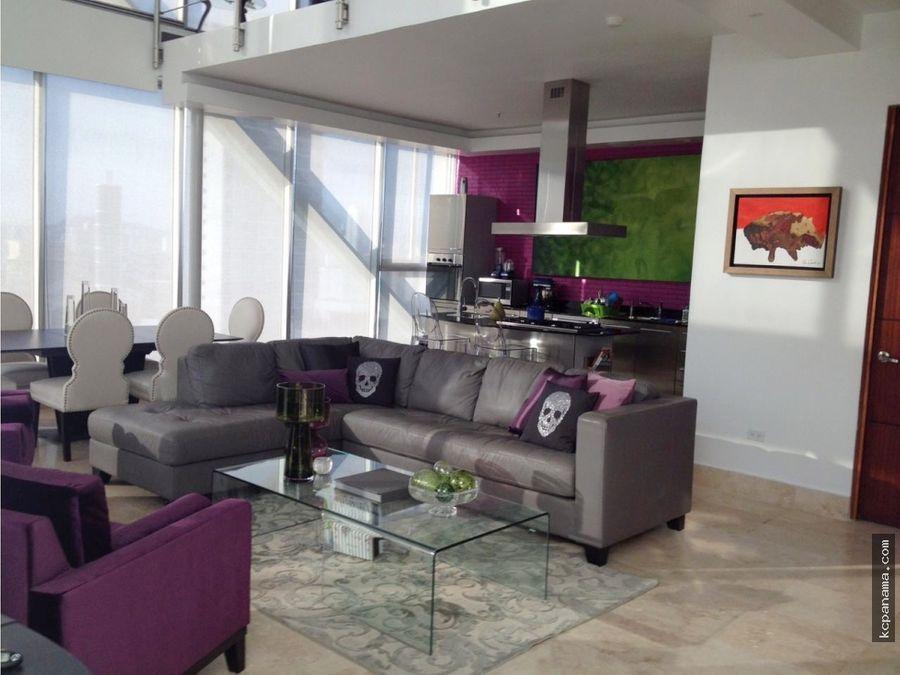 se vende bello apartamento en loft four 41 punta pacifica