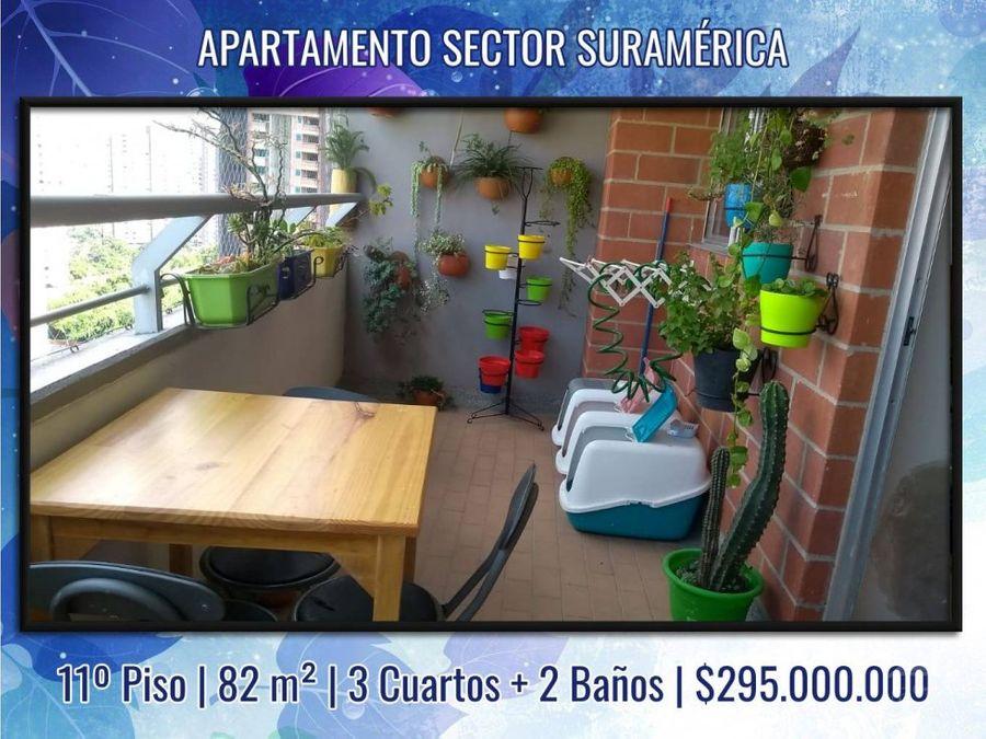 apartamento comodo en unidad completa sector suramerica