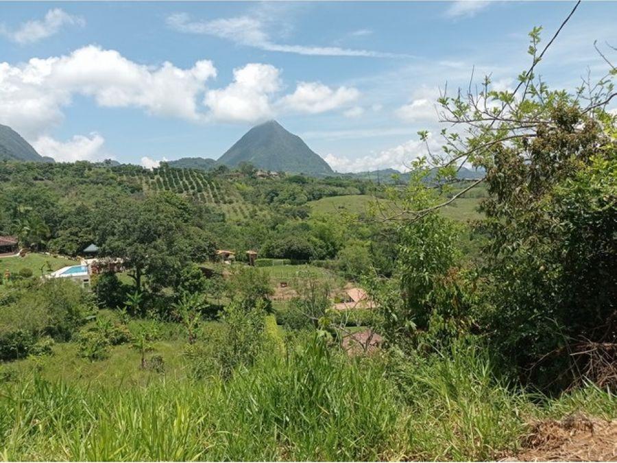 lote de 3200 m2 en venecia con hermosa vista a cerro tusa
