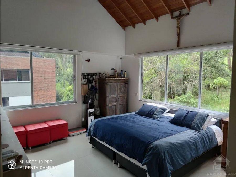 casa campestre no adosada en el sur del valle de aburra