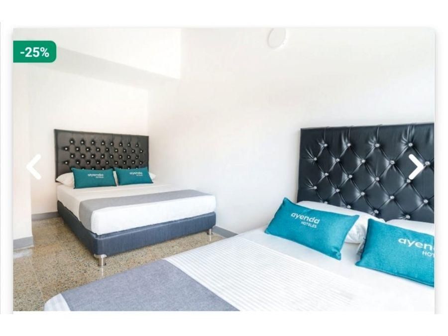 vendo hermoso hotel nuevo en laureles a 100 m de la 70