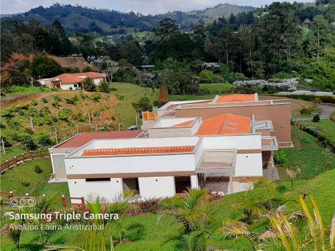casa campestre grande y lujosa cerca al aeropuerto jmc