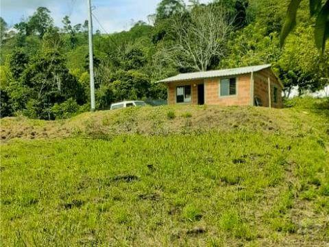 casa campestre sencilla y barata en el suroeste