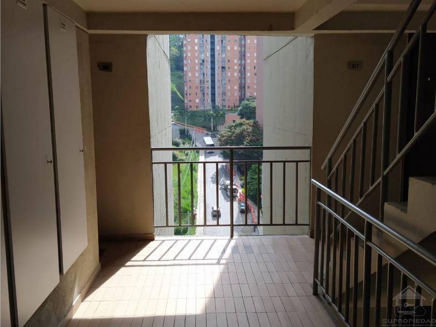 apartamento en unidad palmeras de envigado