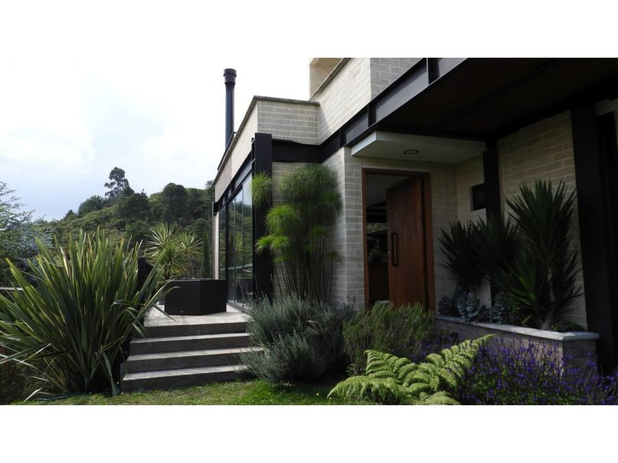 casa campestre de lujo en el alto de las palmas