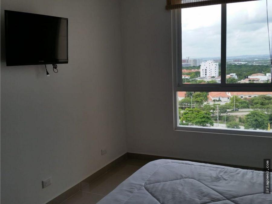 alquilo apartamento amoblado en barranquilla