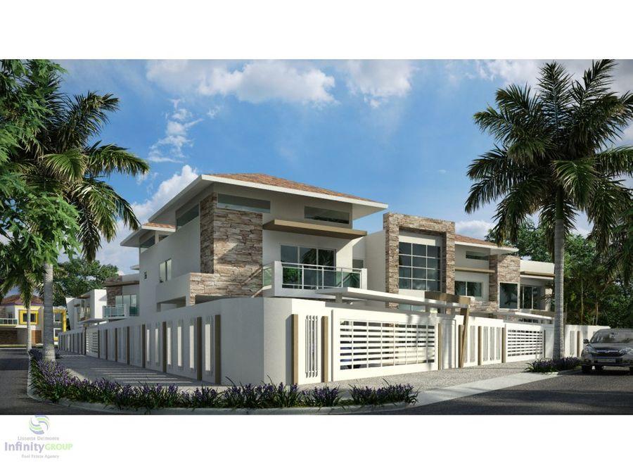proyecto de casas en excelente zona