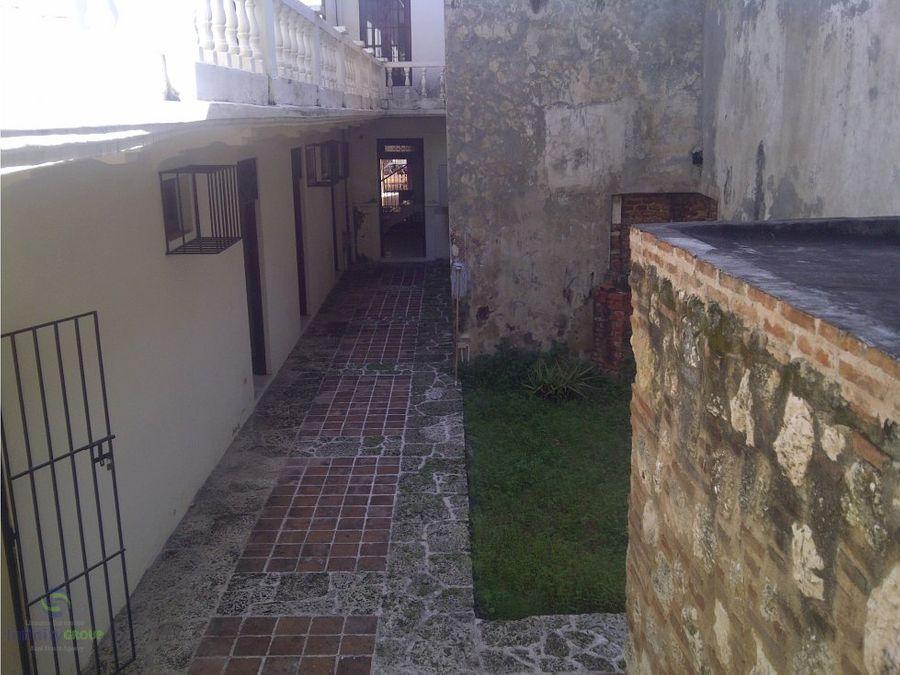 casa local en la zona colonial