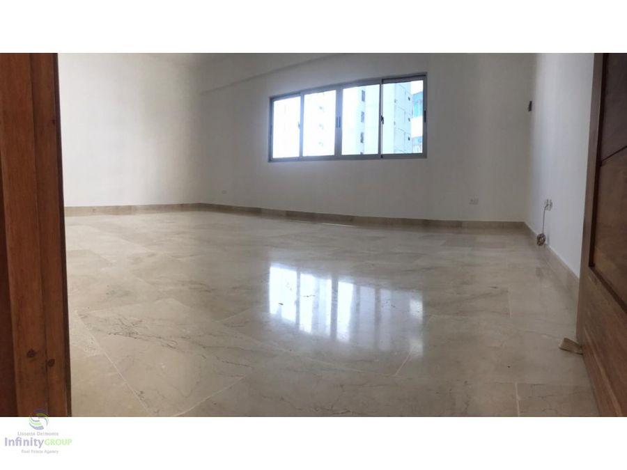 apartamento en alquiler ubicado en cacicazgos