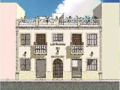 edificio completo 4 apart zona colonial