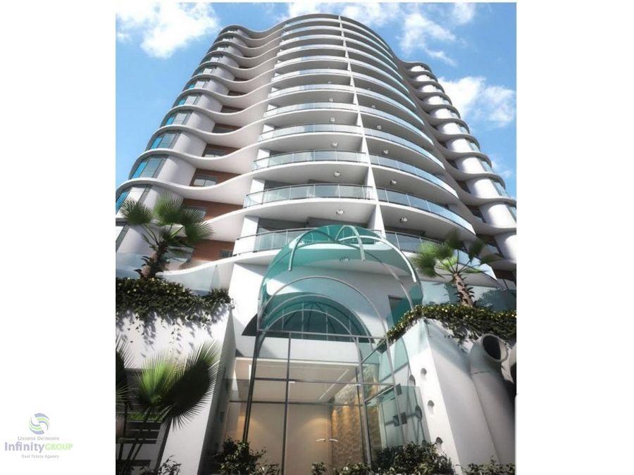 torre de apartamentos en piantini