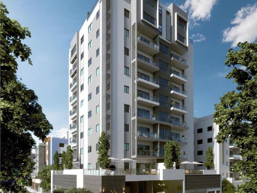 torre de apartamentos en evaristo morales
