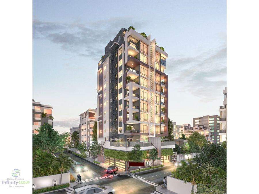 torre de apartamentos ubicado en evaristo morales