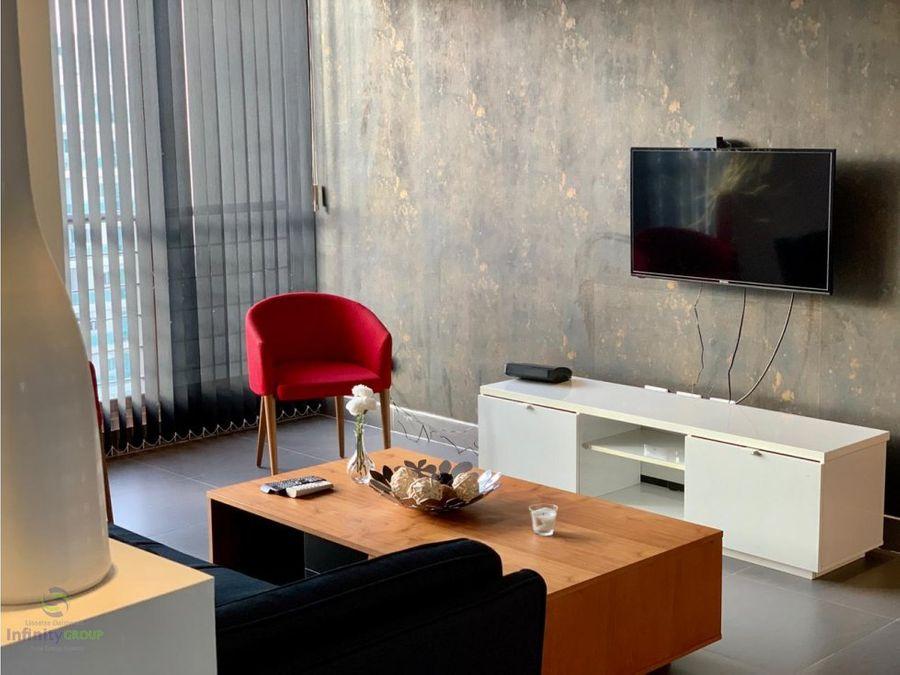 apartamento en alquiler amueblado piantini