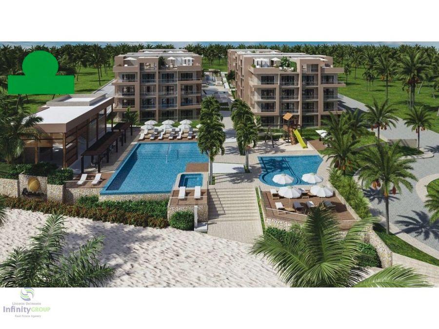proyecto de apartamentos en playa nueva romana