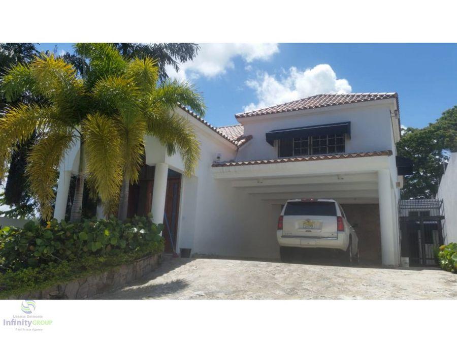 hermosa casa en venta en a hondo iii