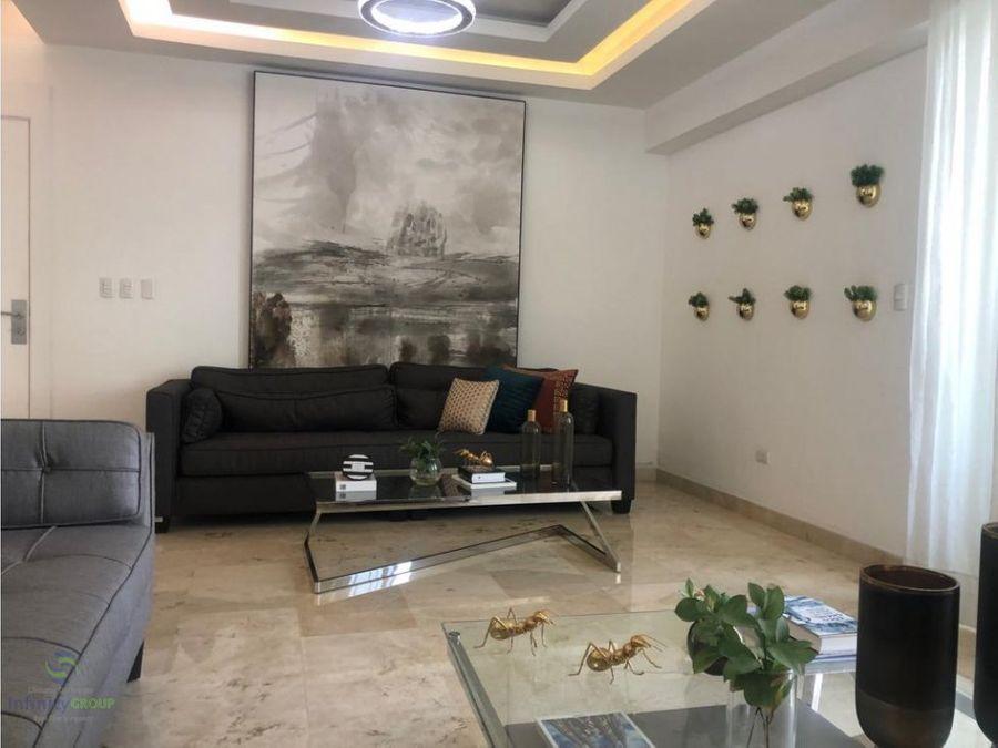apartamento amueblado ubicado en el sector naco